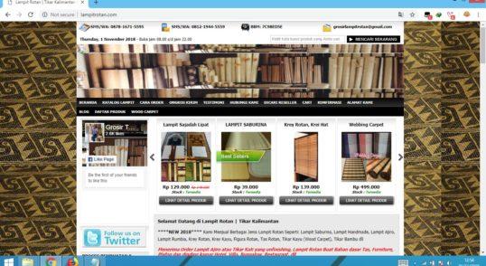 website, toko online, ecommerce, woocomerce